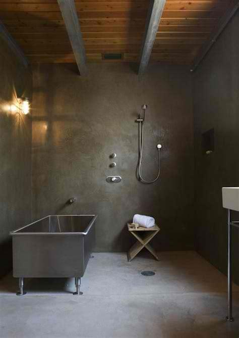cement bathroom floor 20 awesome concrete bathroom designs decoholic