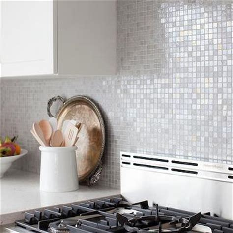 Iridescent Kitchen Backsplash Design Ideas