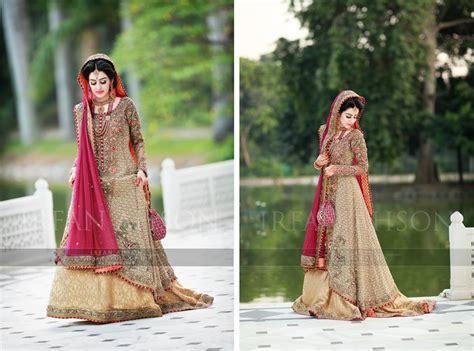 Simple Nikkah Dresses Pakistani