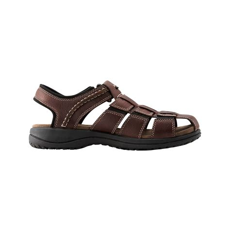 sandals for clarks s fisherman sandals in brown for lyst