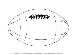 Rugby Outline by Learn How To Draw A Rugby Other Sports Step By Step Drawing Tutorials