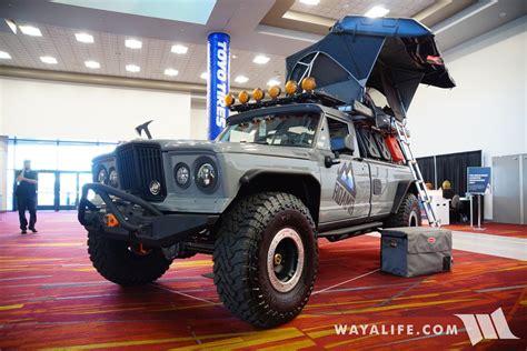 Jeep Tomahawk 2017 Sema Roamr Jeep Gladiator Tomahawk
