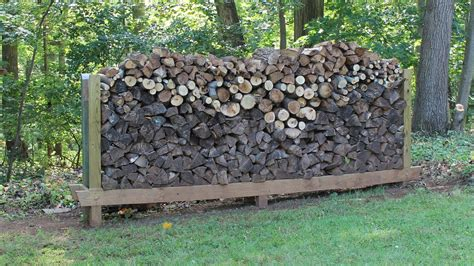 How To Make A Firewood Rack by How To Build Make A Log Rack By Jon Peters