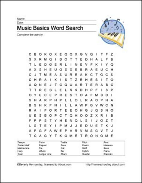 printable music word games 55 best music worksheets images on pinterest music ed