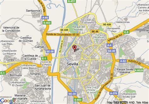 best western cervantes map of best western hotel cervantes seville