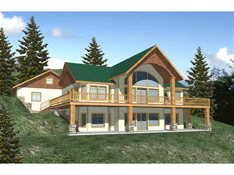 cabin floor plans with walkout basement raised ranch house plans rambler floor walkout basement