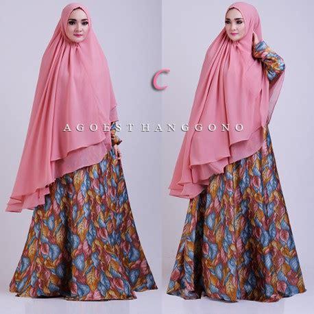 Salwa Syar I velora c baju muslim gamis modern