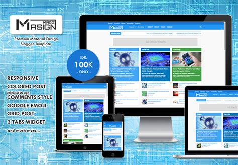material design adalah masign magz premium material design colored blogger