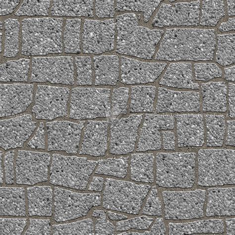 Paving flagstone texture seamless 05870