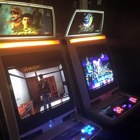 shenmue sega saturn arcade unveils shenmue and nights into dreams arcade