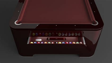 Digital Pool Table by Digital Edge The 247 000 Pool Table From The Future