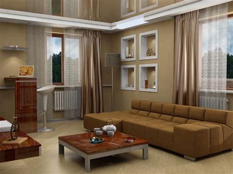 12 salas modernas con paredes color marr 243 n