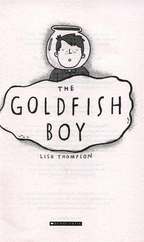 the goldfish boy 1407170996 the goldfish boy by thompson lisa 9781407170992 brownsbfs