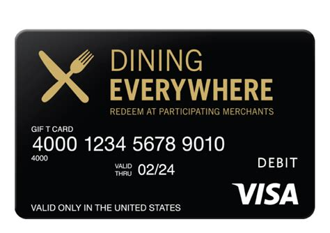 Can T Check Balance On Visa Gift Card - dining everywhere