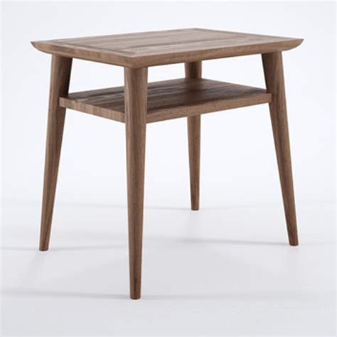 small bedside table danish designed bedside table recycled teak timber the