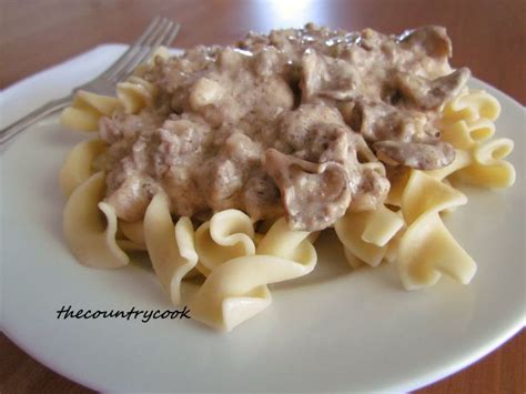 Comfort Food Near Me by The Country Cook Ground Beef Stroganoff Ahhh Beef
