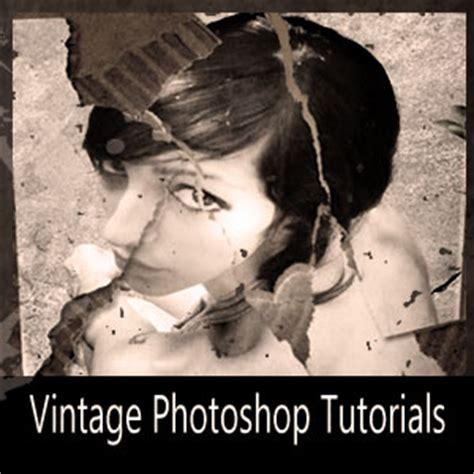 tutorial photoshop vintage vintage effect photoshop tutorials psddude