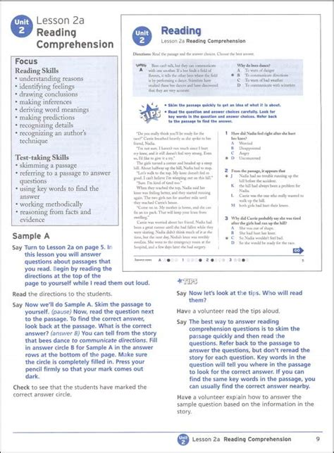 reading comprehension test practice itbs reading comprehension practice test 3rd grade itbs