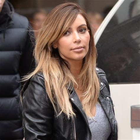 kim kardashian grey blonde hair tiptoeing into blonde kim kardashian hair now gone