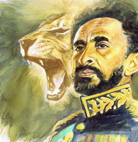 haile selassie i lion of zion afro triangle designs
