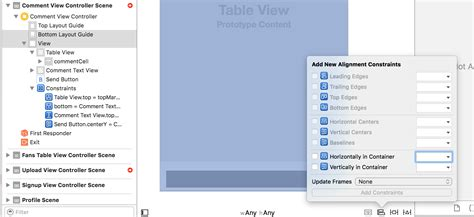 autolayout hide view ios how do i stretch the view when tab is hidden stack