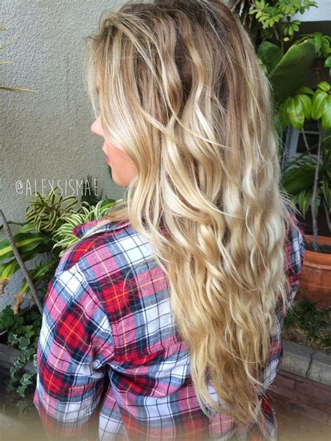 natural overnight beach waves  heat required hair