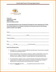 snow removal quote template doc 585600 snow plowing contract template snow plowing