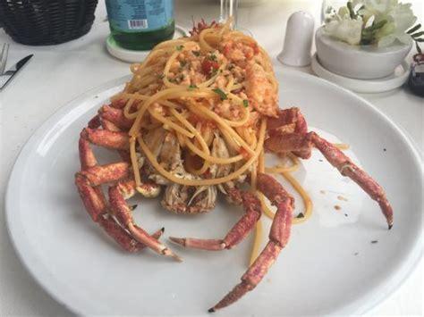 terrazza calabritto spaghetti alla granseola picture of terrazza calabritto