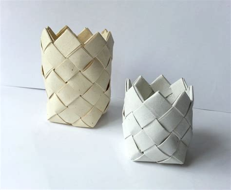 How To Make Basket With Paper - diy paper basket 183 how to make a paper bowl 183 papercraft
