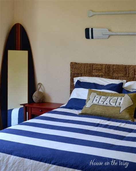 nautical headboard 16 diy nautical home decor the weekly round up surf