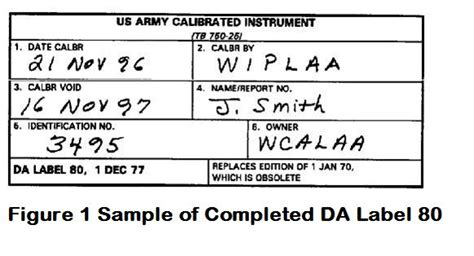 Printable Da Label 80 | fort riley photo gallery