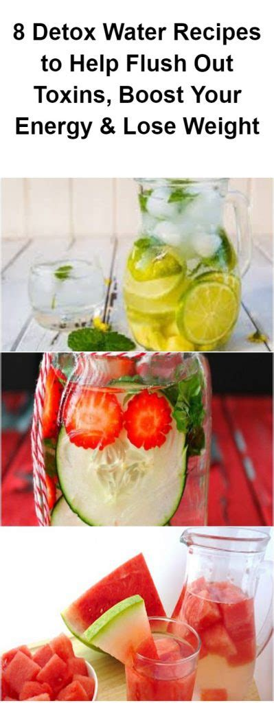 Detox Diet To Help Lose Weight by 8 Detox Water Recipes To Help Flush Out Toxins Boost Your