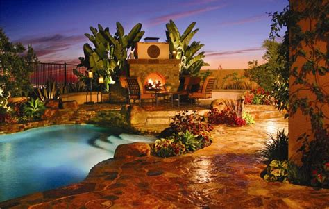 amazing backyard ideas backyard landscaping design ideas swimming pool fireplaces