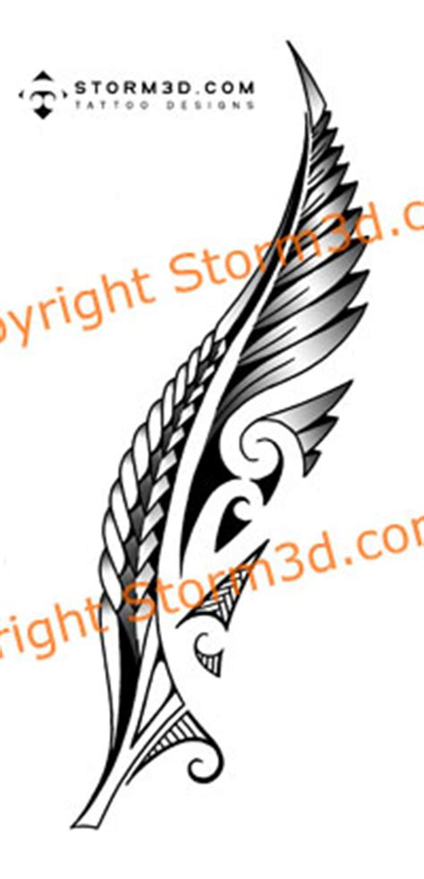nz tattoo designs silver fern maori fern with koru swirls the best designs