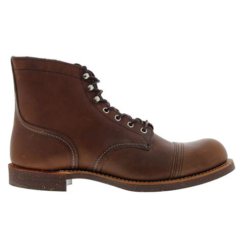 iron boots wing iron ranger 8111 brown mens boots ebay