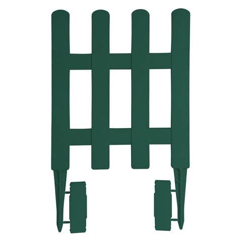 Bordure De Jardin En Plastique Vert