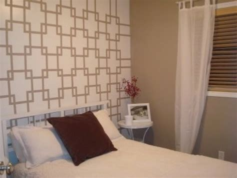 pattern accent wall ideas just one wall when the accent wall works design