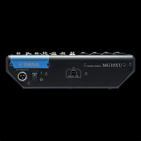 Mixer Yamaha Mg166cx Usb 10 Input Mic yamaha mg10xu 10 input stereo mixer with usb alto