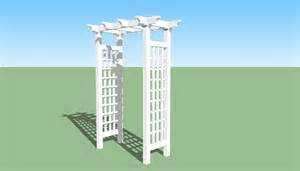build an arbor trellis arbor plans