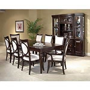 amazon com affinity leg table dining room set by broyhill