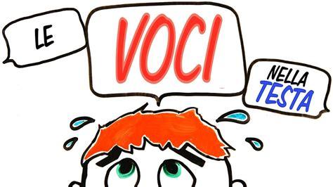 voci nella testa siamo pazzi se sentiamo voci nella testa