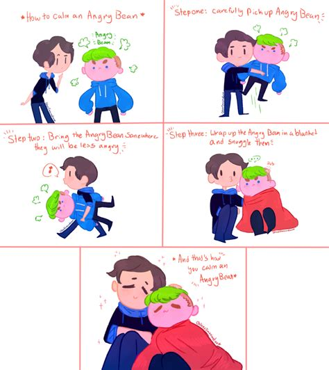 how to calm a setiplier comic how to calm an angry bean by chloesimagination on deviantart