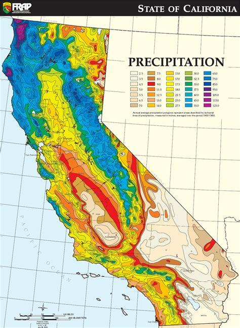 california temperature map by month california average annual precipitation map size