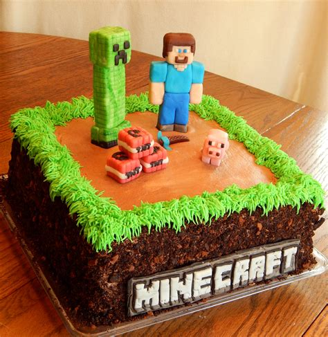 Home Cake Decorating Minecraft Cake Cakecentral Com