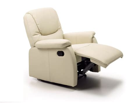 sillon individual reclinable sill 243 n reclinable con reposapi 233 s tapizado polipiel beige o