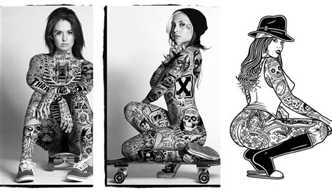 23 seriously strange skateboarding tattoos mpora