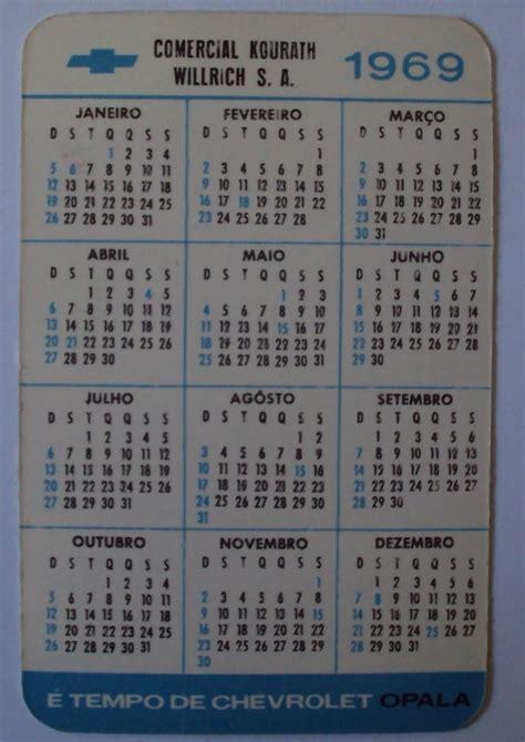Calendario De 1969 Showroom Imagens Do Passado Resgatando Hist 243 Rias 201 Tempo