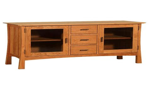 mission style media cabinet craftsman style media console mission media console
