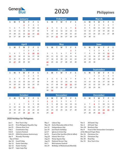 printable calendar   word  excel philippines
