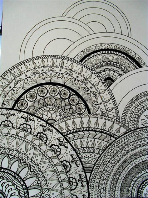 pinterest pattern drawing all sizes my drawings inspired zentangle 174 this would
